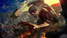 Sawano Hiroyuki - Attack On Titan (Rayden Remix) (Vocal - Mika Kobayashi) by Rayden on SoundCloud Konosuba Wallpaper, Wallpaper Backgrounds, Wallpaper Notebook, Mikasa, Titan Armor, Beast, Background Images Wallpapers, Attack On Titan Levi, Animes Wallpapers