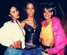 Selena Aaliyah Left Eye