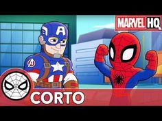 Saber Escuchar   Aventuras de Súper Héroes de Marvel - YouTube Disney Junior, Marvel, Youtube, Spiderman, Videos, Fictional Characters, Spider Man, Superhero, Amazing Houses