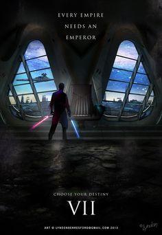 *STAR WARS: Episode VII - The Force Awakens, 2015.....Awesome Star Wars Seven fan poster artwork