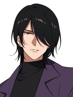 Black Hair Anime Guy, Anime Boy Hair, Anime Art Girl, Anime Oc, Fanarts Anime, Kawaii Anime, Anime Characters, Handsome Anime Guys, Hot Anime Guys