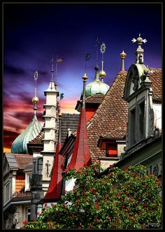 Roof tops - Lucerne, Switzerland