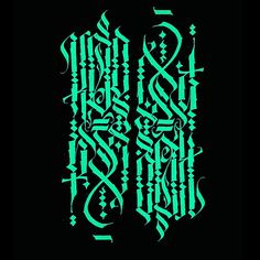 Creator of the Calligrafuturism. One of the most distinguished modern calligraphy representatives, one of the opinion leaders of modern calligraphy community. Urdu Calligraphy, Calligraphy Drawing, Calligraphy Alphabet, Modern Calligraphy, Tattoo Lettering Fonts, Chicano Lettering, Edgy Fonts, Gothic Drawings, Gothic Fonts
