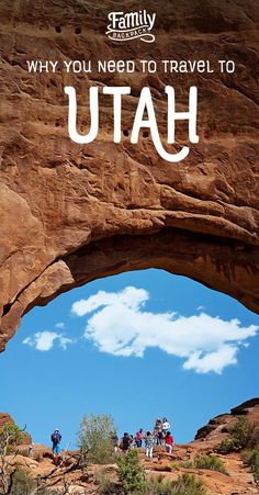 Why You Need to Travel to  Utah-  Find out why #Utah should be your next travel #adventure!  #Winter months boast an array of skiing and tubing destinations to choose from.  In the warmer months, hike some of the most beautiful canyons in the world! If outdoor adventure is not your forte, take a scenic #roadtrip! Check out our collection of #fun #things to do in Utah and discover why you MUST add it to your travel #bucketlist!