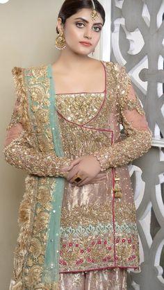 Pakistani Fancy Dresses, Pakistani Wedding Dresses, Pakistani Dress Design, Indian Wedding Outfits, Bridal Outfits, Walima Dress, Shadi Dresses, Wedding Dresses For Girls, Formal Dresses For Weddings