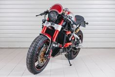 """Ducati Monster Cafe Racer """"Red Bullett"""" WRP Officina (Rimini - Italy) #motorcycles #caferacer #motos   caferacerpasion.com"""