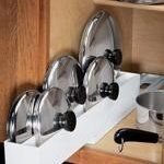 Five Ways to Get Your Pot Lids Organized | The Kitchn
