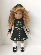 RETIRED AMERICAN GIRL IRISH DANCE OUTFIT Doll of Today RARE