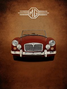 Mg Mga 1500 Print By Mark Rogan