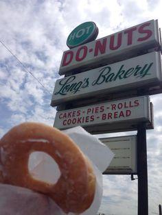 A warm, glazed doughnut. A moment on the lips...