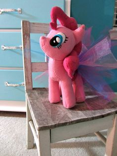 DIY Pinkie Pie MLP Plushie