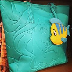 These Loungefly Totes Are Maximum 'The Little Mermaid'
