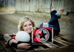 Volleyball Poses for Senior | Sports | Senior picture poses