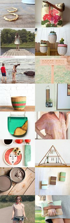 Sunshine Days by Jennifer Vitale on Etsy--Pinned with TreasuryPin.com