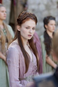 Sansa Stark still from Game of Thrones Season 2
