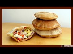 Pita chléb - jak si ho upéct doma - YouTube Tacos, Bread, Ethnic Recipes, Youtube, Anna, Food, Breads, Bakeries, Youtubers