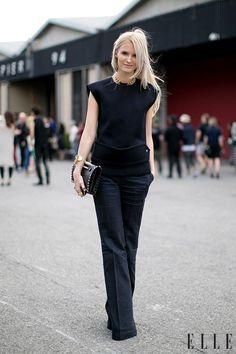 Style de rue: les tenues sophistiquées (Photo: Imaxtree) | Elle Québec