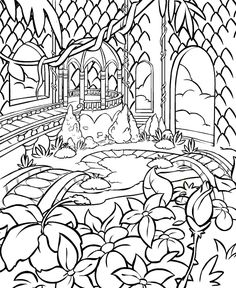 desert flower coloring pages - photo#41