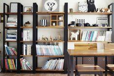 [거실 서재 인테리어]아이를 위한 북카페 스타일 거실 만들기 : 네이버 블로그 Decor, House, Shelves, Interior, Shelving Unit, Home Decor, House Interior, Interior Design, Shelving