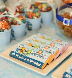 Little Big Company | The Blog: Under the Sea with the Octonauts themed party by Enchanting Parties