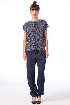 Pantalon avec cordon irisé Shewa