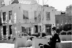 Fitness Fashion Crush #5: Magen Banwart - RayBan Aviators (my longtime fave)   Loro Piana Cashmere Wrap    Michael Kors Black Cashmere V-Neck   Norma Kamali Leggings   Sorrell Boots