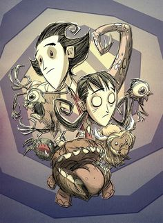 Don't Starve - Group Art by Jeff Agala