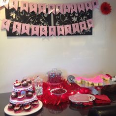 First moon period party. Pamper Party, Sleepover Party, Red Party, Party In A Box, 11th Birthday, It's Your Birthday, First Moon Party, First Period Kits, Period Party