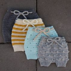 Crochet Baby Pants, Crochet Romper, Crochet Wool, Knitted Baby Clothes, Crochet For Boys, Newborn Crochet, Baby Blanket Crochet, Crochet Designs, Crochet Patterns