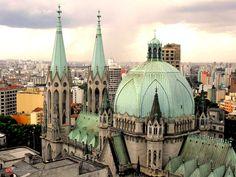 Catedral da Sé, cidade de São Paulo.