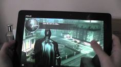 ASUS Transformer Pad TF701: The Dark Knight Rises Gameplay (+playlist)