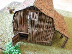 Barn wargame miniature scale 0.28