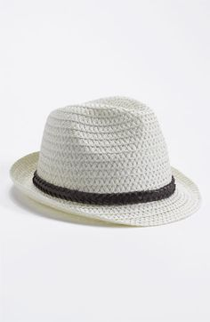 David & Young Braided Band Fedora | Nordstrom