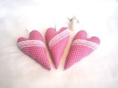 Image result for ideas what to do with fabric hearts