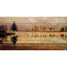 Shop for Parvez Taj - 'Chanannes' Painting Print on Reclaimed Wood. Ships To Canada at Overstock.ca - Your Online Home Decor Destination!