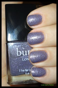 My favorite nail polish colors are purple and gray. Love this one.