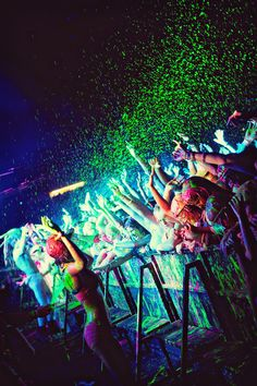 Day Glow the worlds largest paint party.... hopefullly sept 15 charleston