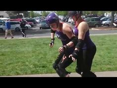 ▶ Roller Derby Positional Blocking Tips - YouTube