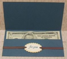money holder Greeting Card Box, Gift Card Boxes, Fancy Fold Cards, Folded Cards, Card Making Tips, Making Ideas, Money Holders, Card Holders, Gift Cards Money