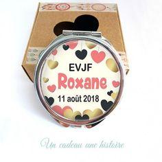 ccff8605bf18 miroir personnalisable, idée cadeau pour evjf,future mariée, témoin,  demoiselle d