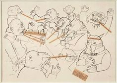 George Grosz, Voice of the People , 1920