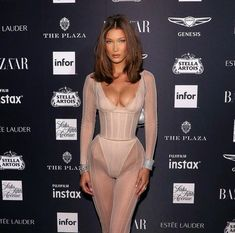 Bella Hadid Wore 3 Completely Different Naked Looks Out in NYC Bella Hadid's 3 Naked Outfits Are So Different Bella Hadid Estilo, Bella Gigi Hadid, Bella Hadid Hair, Bella Hadid Makeup, Who What Wear, Estilo Hippie, Carine Roitfeld, Mannequins, Fashion Outfits