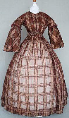 1850:60 sheer silk dress by pseitas, via Flickr