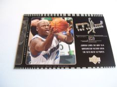 2002 Upper Deck Michael Jordan The Comeback Card.  Card #J4.