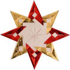 Christmas Origami Petal Star