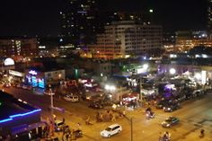 The view from the Spotify/MSN rooftop show
