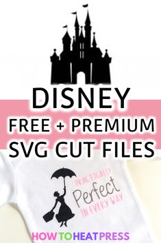 Disney SVG Files: FREE