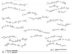 Curvy Verses