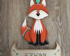 Baby Animal Paintings  Woodland Paintings  Woodland Sign Set