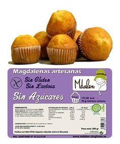 Magdalenas Sin Gluten Mdalen 300gr Muffin, Breakfast, Food, Gluten Free Cupcakes, Celiac, Foods, Meal, Eten, Meals